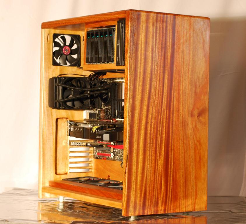 Skoups Wooden Pc Case Build Skoups