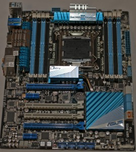 Asus P9X79 Delux motherboard
